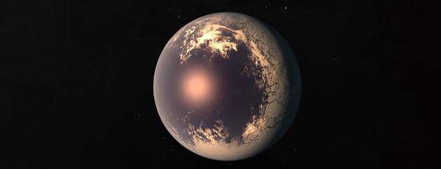 潮汐锁定走星仅能一侧朝向主恒星,这将影响该走星的气候编制。图中艺术家描绘的系生手星似乎一颗重大的眼球,走星清明一侧是液态海洋,黑黑一侧隐瞒着极冷外壳。