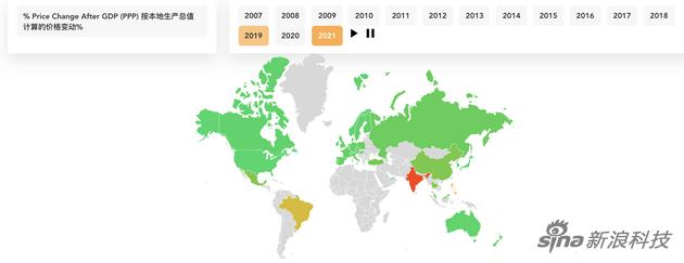 自2007年推出以来 iPhone的价格在全球范围内上涨了80%以上