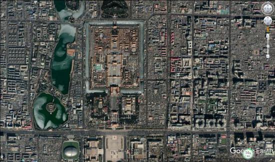 谷歌地区拍摄画面