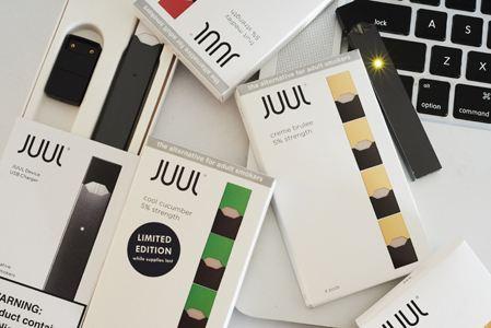 Juul将暂停销售水果味电子烟 预计特朗普只会留下烟草味的电子烟