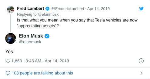 """马斯克警告:未来""""汽油汽车""""剩余价值将暴跌"""