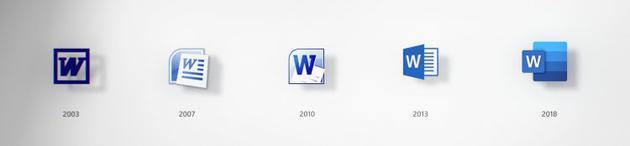 Office图标的变迁史