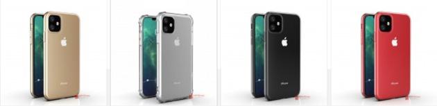 iPhone XR 2019配色曝光 苹果将为新XR增加长焦镜头