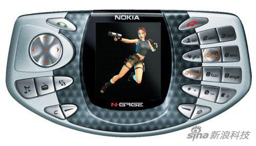 在16年前,手机界老大出这个么个东西就相当科幻了