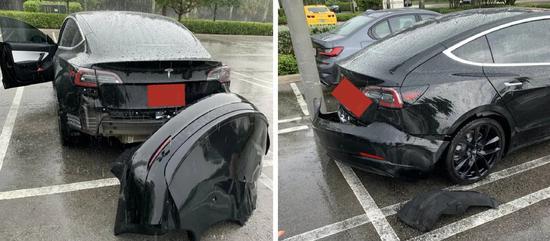 特斯拉承认设计缺陷:Model 3过水坑易引发保险杠脱落
