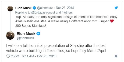 马斯克发的推文