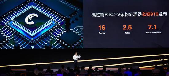 阿里平頭哥發布處理器玄鐵910 可用于5G、AI等