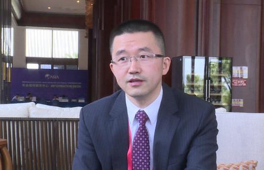百度副总裁、百度云总经理尹世明 新浪科技摄