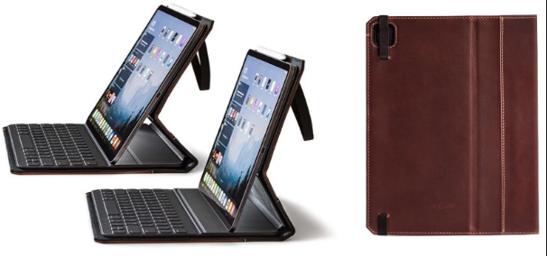 苹果iPad Pro 2020款智能键盘套(图片来自@macrumors)