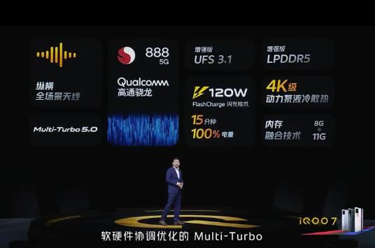 "iQOO 7正式发布:""双羊双马双鸭""全新游戏体验"