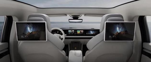 SONY首款概念車SONY Vision-S