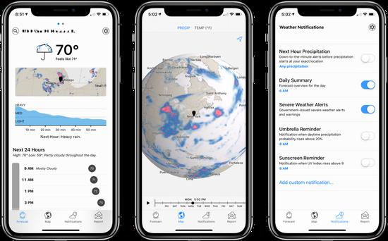 外媒:苹果收购流行移动天气服务提供商Dark Sky