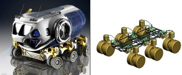 研究人员称,一些火星车具备钻探能力,可以在火星表面凿钻发现水资源。