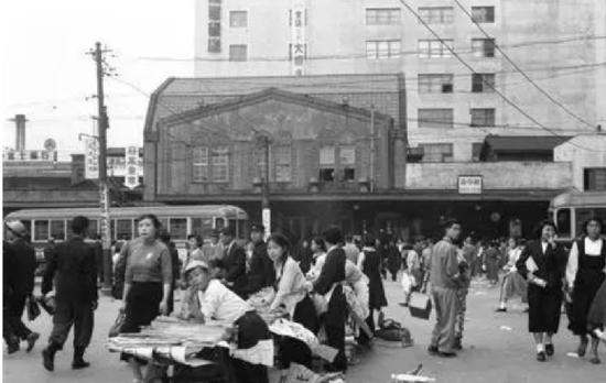 1955年的东京涩谷区