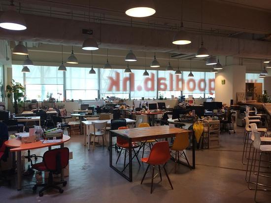 香港一家共享办公空间。/Wpcpey