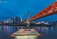 光影变幻的天津风景