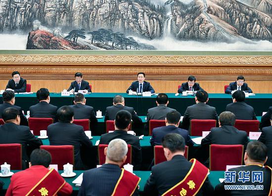 11月30日,三北工程建設40周年總結表彰大會在北京召開。中共中央政治局常委、國務院副總理韓正出席并講話。