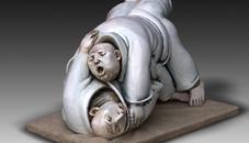 藝術家劉松雕塑作品