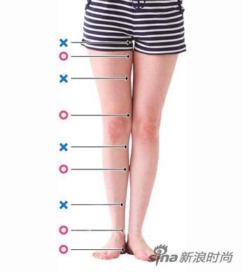 正常女生腿型_标准腿型图片男标准腿型 正常腿型并拢图片 图片