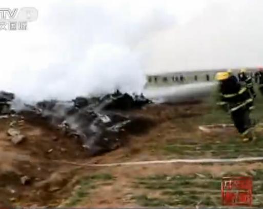 陜西渭南飛機墜毀2人遇難