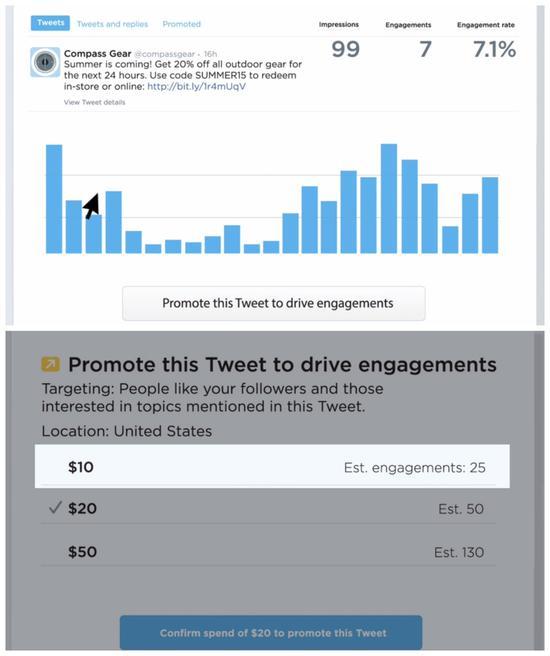 Twitter面向小企业推出定向广告工具