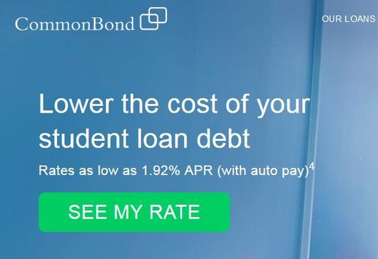 美学生网贷公司CommonBond获1.5亿美元贷款资金