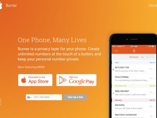 Burner:申请临时手机号保护隐私的App