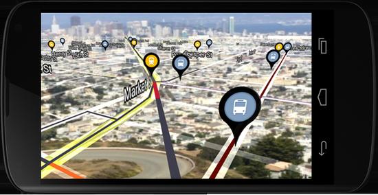 路痴福音:Urban Engines推出增强现实导航