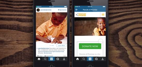 Instagram给广告主特权:发组图和内置广告链接