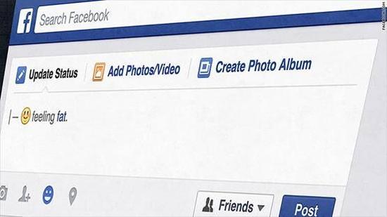 Facebook推新肥胖表情引吐槽