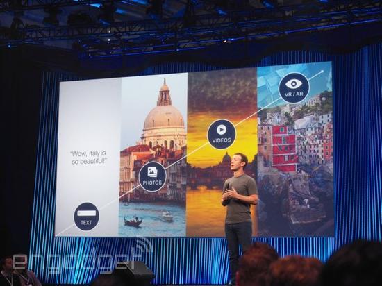 Facebook宣布将提供360度视频内容