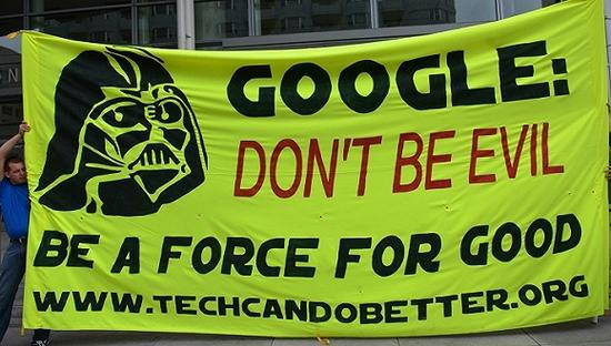 """""""不作恶""""的谷歌已成一股强大的政治势力?"""