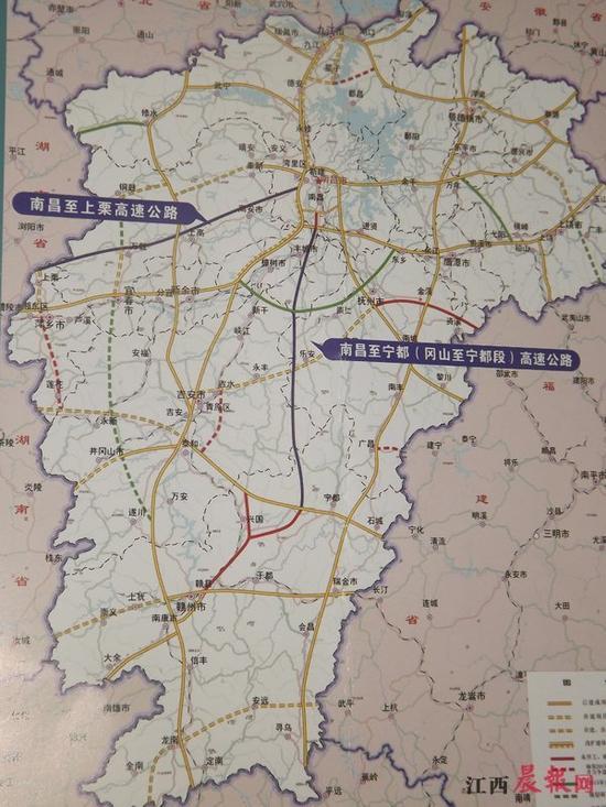 宁都县乡镇地图