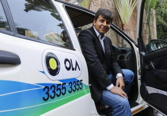 印度最大在线打车服务Ola融资3亿美元