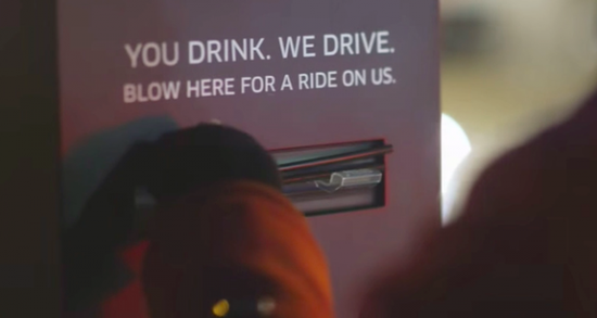 Uber在多伦多尝试免费代驾:吹口气就能叫车