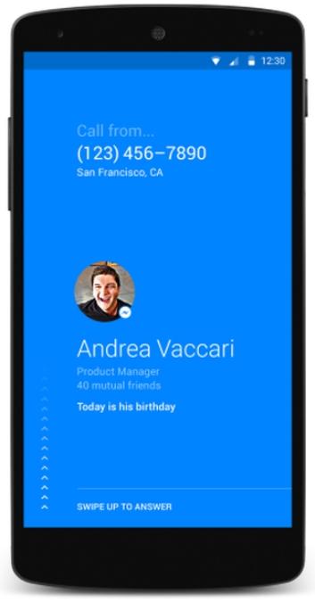 Facebook推出安卓拨号应用Hello