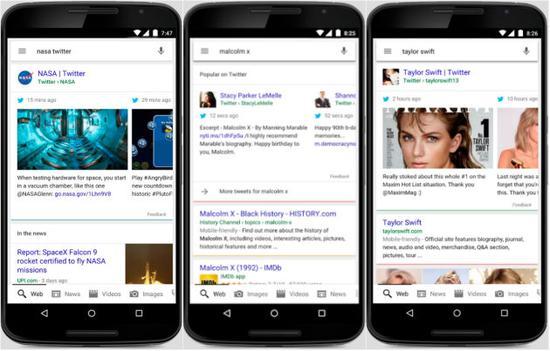 新契机?谷歌搜索结果整合实时Twitter消息