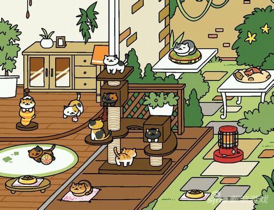ios好玩的单机游戏_猫奴们的福音!《猫咪后院》推出官方漫画_97973手游网