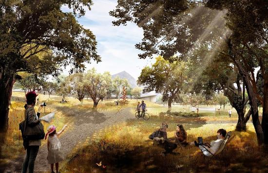 组图:谷歌未来派新园区酷似马戏团帐篷