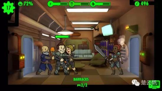 Fallout Shelter突發事件中的入侵者并不難解決