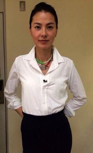 48岁日本女星江角真纪子