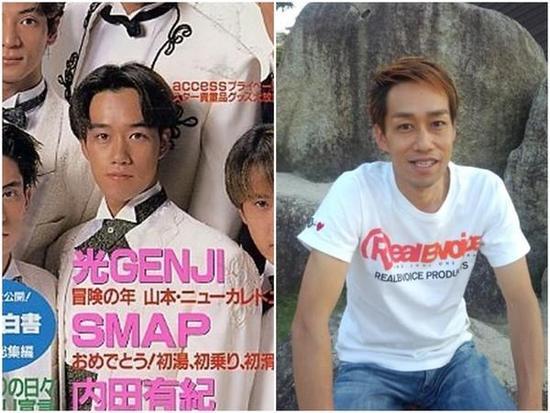 山本淳一在上世纪80年代是当红偶像
