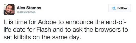 Facebook首席安全官:Adobe该停止提供Flash了