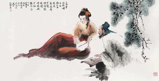 梅凯 人物(拍品编号:39)