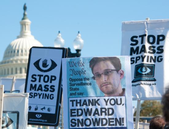 美国政府拒绝17万民众赦免斯诺登请求