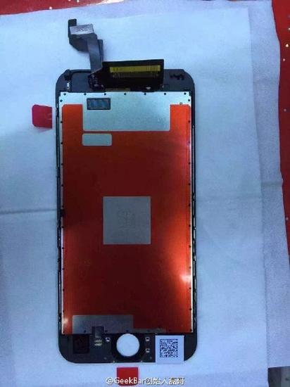 iPhone6s屏幕曝光:与iPhone6傻傻分不清
