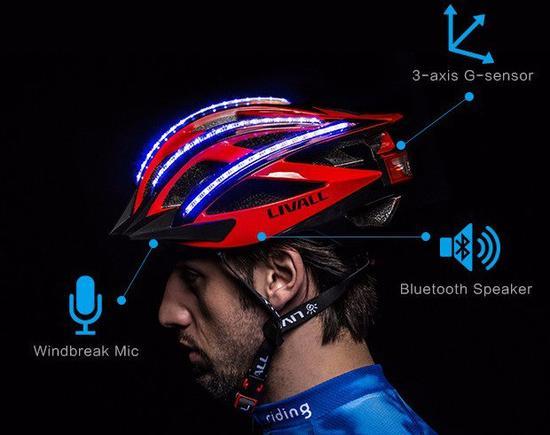 头盔感应器设计