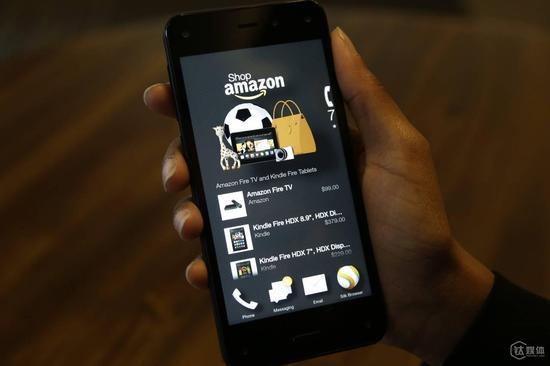 裁掉数位手机工程师 亚马逊或放弃智能手机业务