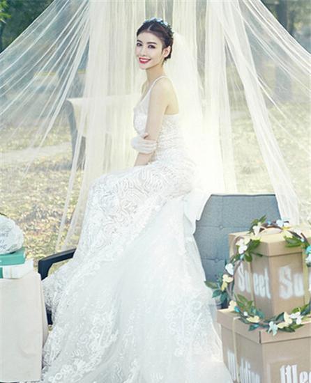 新娘白纱裙造型图片_韩式婚纱照新娘造型 婚纱照 新娘 造型_新浪时尚_新浪网