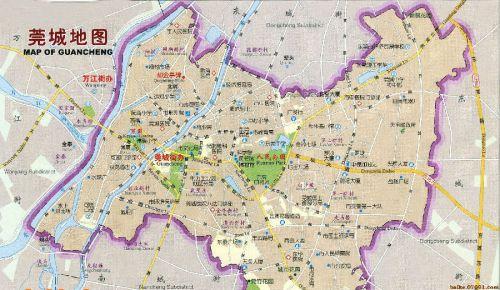东莞市区地图全图